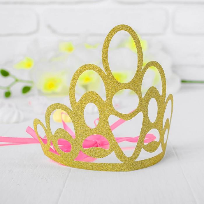 Корона Красота, цвет золотой