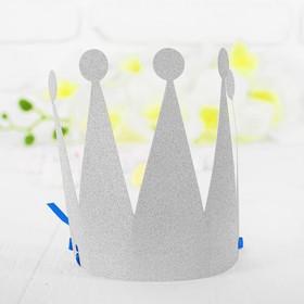 Корона «Царевна», цвет серебряный Ош