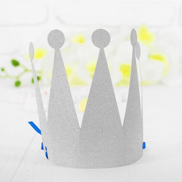 Корона Царевна, цвет серебряный