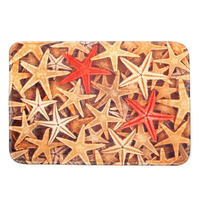 Коврик «Морские звёзды», 40×60 см