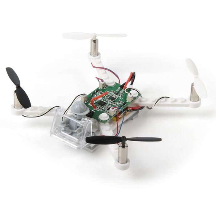 Квадрокоптер-конструктор радиоуправляемый Blocks, работает от аккумулятора