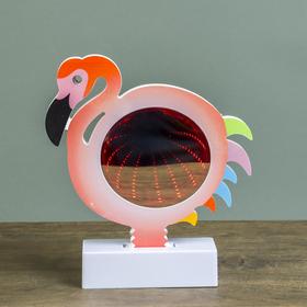 Ночник бесконечность 'Фламинго' LEDх15 от 3ААА МИКС 18,5х17х4,5 см Ош