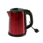 Чайник электрический GELBERK GL-321, 1500 Вт, 2 л, металл, красный