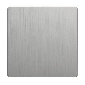 Клавиша для выключателя перекрестного  WL09-SW-1G-C-CP, цвет серебряный
