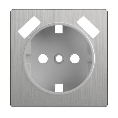 Накладка  для розетки USB  WL09-USB-CP, цвет cеребряный