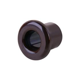 Втулка для вывода кабеля из стены 2 шт.  WL18-18-01, цвет коричневый, ретро