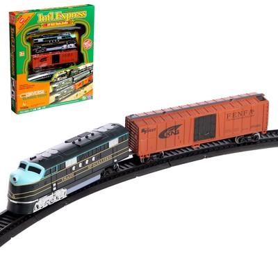Железная дорога «Большой экспресс», со светозвуковыми эффектами, протяжённость пути 4,03 м - Фото 1