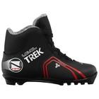 Ботинки лыжные TREK Level 2 NNN ИК, цвет чёрный, лого красный, размер 39
