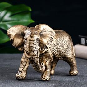 "Фигура ""Слон африканский"" бронза 18х9х13см"
