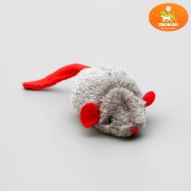 Мышь 'Реальная добыча' со звуковым микрочипом, 9 см, Ош