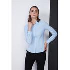 Рубашка женская, цвет голубой, размер 40