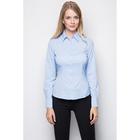 Рубашка женская, цвет голубой, размер 50