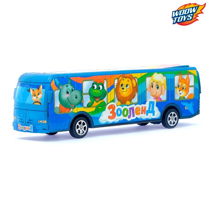 Автобус инерционный «Зооленд»