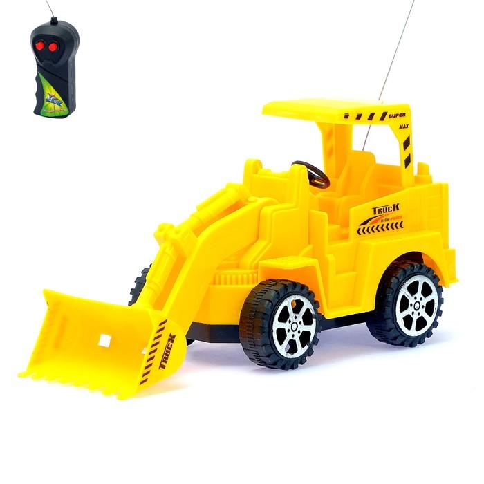 Трактор радиоуправляемый Погрузчик, работает от батареек