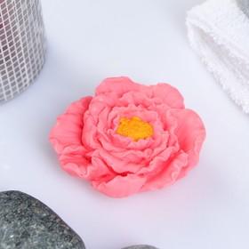 Мыло фигурное 'Пион' розовый 40 г Ош