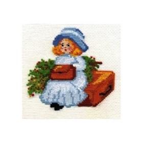 """Набор для вышивания """"Путешественница"""""""
