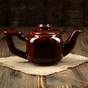 Чайник для заварки, 800 мл, коричневый Ош
