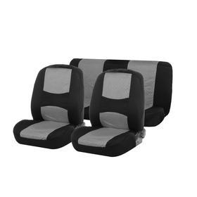 Авточехлы TORSO Premium универсальные, 4 предмета, чёрно-серый AV-2 Ош