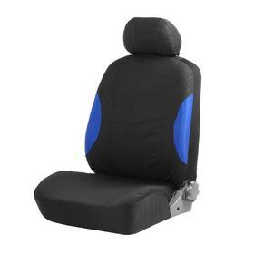 Авточехлы TORSO Premium универсальные, 9 предметов, чёрно-синий AV-18 Ош