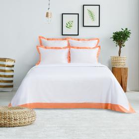 Постельное бельё Этель евро «Elite dreams» цвет персиковый, 200×220, 260×240, 70×70 - 2 шт., 50×70 - 2 шт.