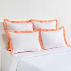 Постельное бельё Этель евро «Elite dreams» цвет персиковый, 200×220, 260×240, 70×70 - 2 шт., 50×70 - 2 шт. - Фото 2