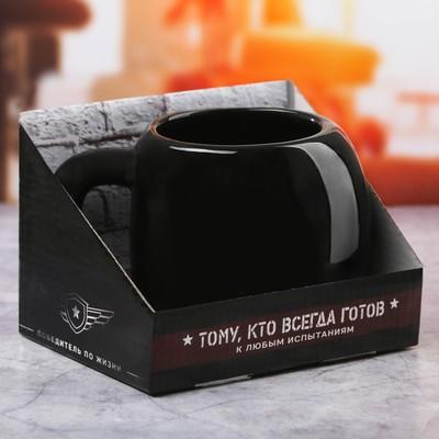 Кружка боксёрская перчатка «Чёрная», 600 мл - Фото 1