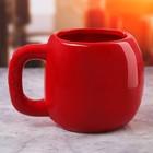 Кружка боксёрская перчатка «Красная», 600 мл - Фото 2