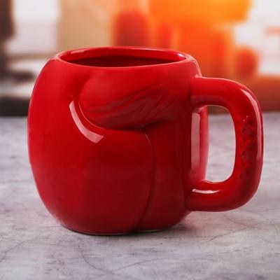 Кружка боксёрская перчатка «Красная», 600 мл - Фото 1