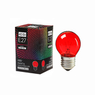 Лампа накаливания Luazon Lighthing E27, 40W, для белт лайта, красная, 220 В