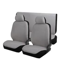 Авточехлы TORSO Premium универсальные, велюр, 6 предметов, серый AV-40 Ош