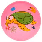 Мяч детский «Дельфинчики», d=25 см, 60 г, цвет розовый, принт МИКС