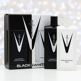 Подарочный набор Viking Black&White: шампунь, 300 мл + гель для душа, 300 мл
