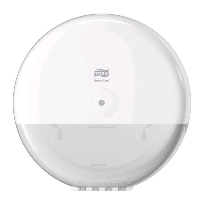 Диспенсер Tork SmartOne для туалетной бумаги в рулонах, цвет белый