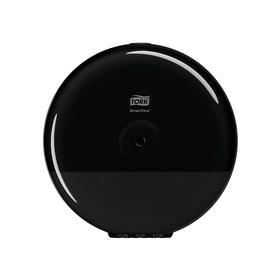 Диспенсер Tork SmartOne для туалетной бумаги в мини рулонах, цвет чёрный