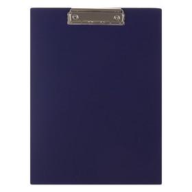 Планшет с зажимом А4, пластиковый 1.5 мм, Calligrata, синий Ош