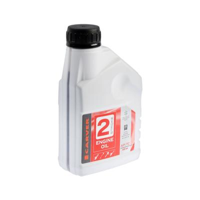 Масло CARVER 2 Stroke Engine oil, для двухтактных двигателей, минеральное, API TC, 0.6 л