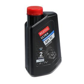 Масло Rezoil ULTRA 2Т, для двухтактных двигателей, п/синт., API TC, 0.946 л