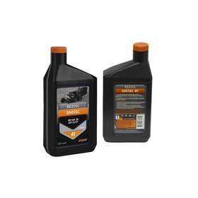 Масло Rezoil UNITEC 4Т, для 4Т двигателей, минеральное, HD SAE 30 API SJ/CF, 0.946 л