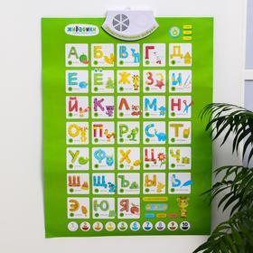 Развивающий плакат «Пластилиновая азбука»