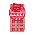 Набор кухонный «Новогоднее чудо»: полотенце 35 × 63 см, прихватка d18,5 см