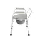 Кресло-туалет WC Econom с санитарным оснащением, без колёс, цвет микс