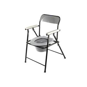 Кресло-туалет WC eFix с санитарным оснащением, без колёс, цвет МИКС
