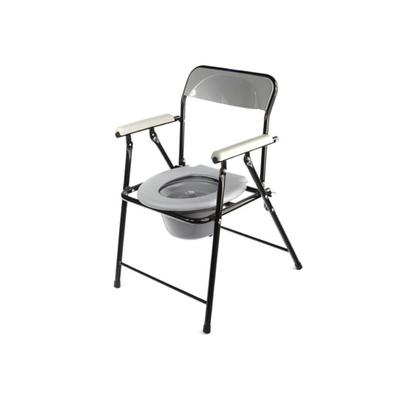 Кресло-туалет WC eFix с санитарным оснащением, без колёс, цвет МИКС - Фото 1