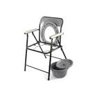 Кресло-туалет WC eFix с санитарным оснащением, без колёс, цвет МИКС - Фото 3