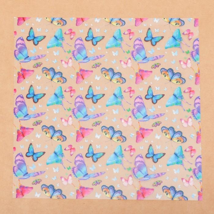 Ацетатный лист «Яркое настроение», 30,5 × 30,5 см