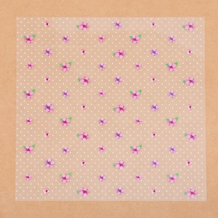 Ацетатный лист «Невинность», 20 × 20 см