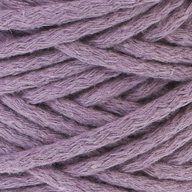 Шнур для вязания 100% хлопок, ширина 5 мм 100м/450гр (сиреневый)