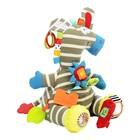 Развивающая игрушка «Забавный зверь. Зебра»