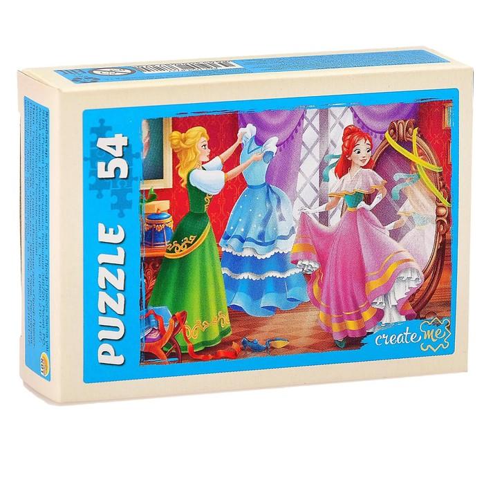 Пазл Страна принцесс, 54 элемента, МИКС
