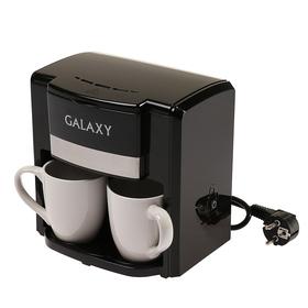 Кофеварка Galaxy GL 0708, капельная, 750 Вт, 0.3 л, чёрная Ош